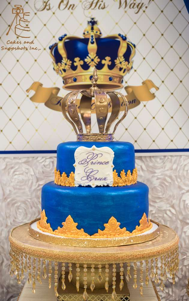 Royal Prince Theme Baby Shower