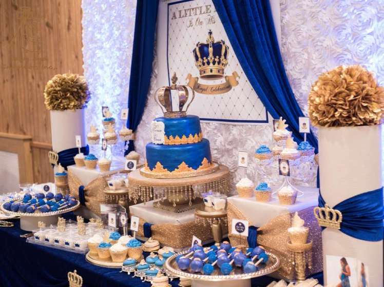 Royal Prince Theme Baby Shower Decoration 3