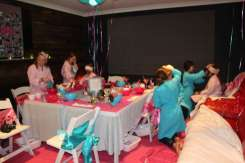 Spa Theme Birthday Party 2