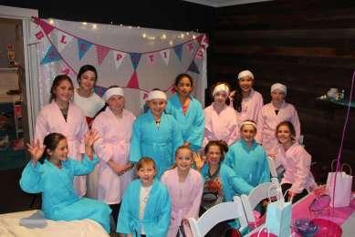 Spa Theme Birthday Party Activities 5