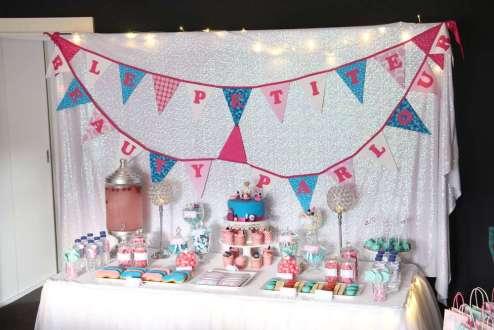 Spa Theme Birthday Party Decoration 2