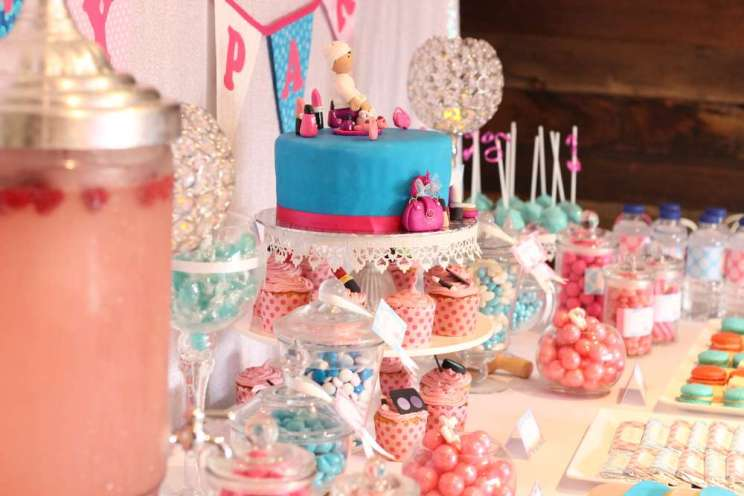 Spa Theme Birthday Party Decoration 9