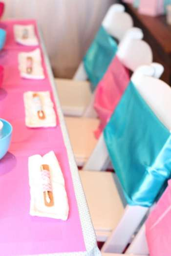 Spa Theme Birthday Party Venue 2