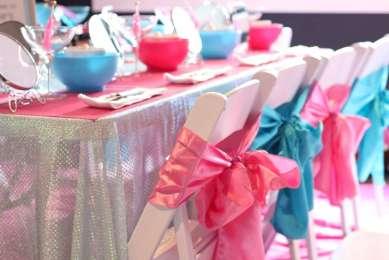 Spa Theme Birthday Party Venue 4