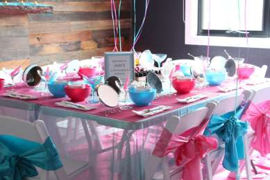 Spa Theme Birthday Party Venue
