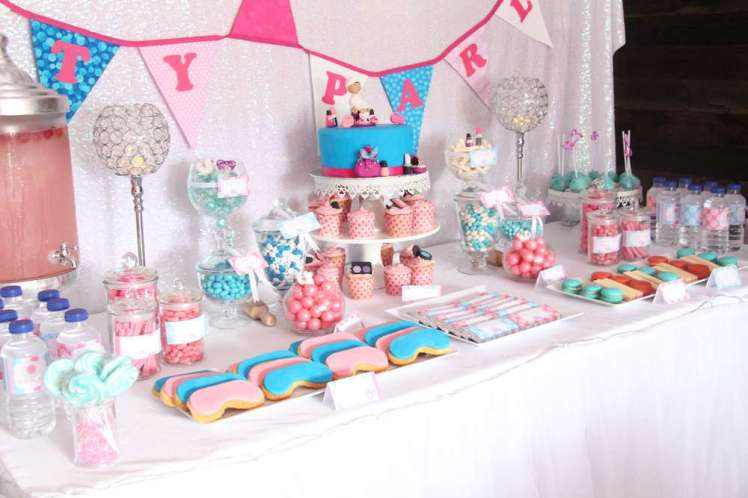 Spa Theme Birthday Party