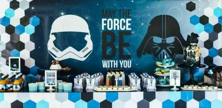 Star Wars Theme Birthday Party