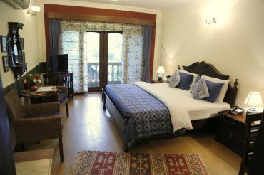 The Estate Villa Delhi Bedroom