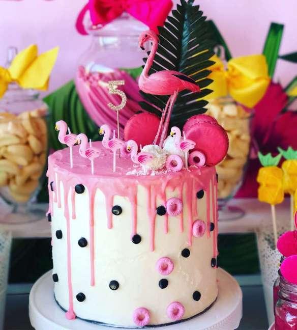 tropical theme birthday party decoration venuemonk blog