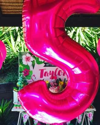 Tropical Theme Birthday Party Decoration 3