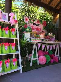 Tropical Theme Birthday Party Decoration 4