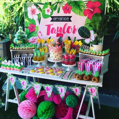 Tropical Theme Birthday Party Decoration 5