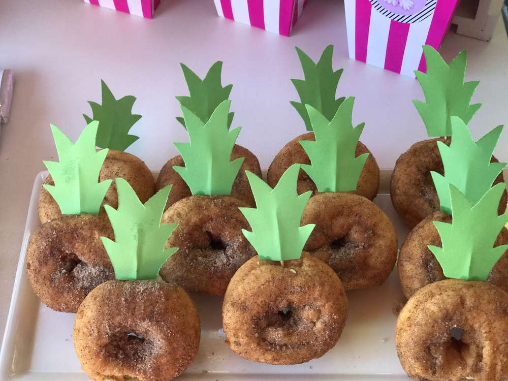 tropical theme birthday party food 3 venuemonk blog