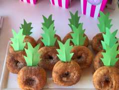 Tropical Theme Birthday Party Food 3