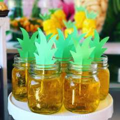 Tropical Theme Birthday Party Food