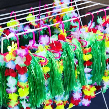 Tropical Theme Birthday Party Props
