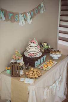 Vintage Theme Baby Shower Decoration 3
