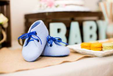 Vintage Theme Baby Shower Decoration 6