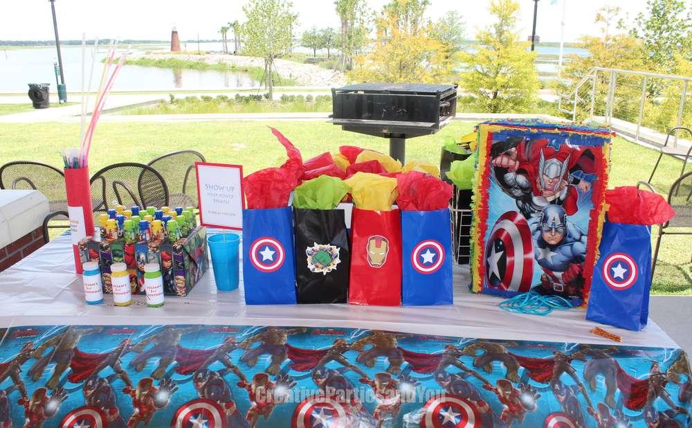 Avengers Theme Birthday Party Decoration 1