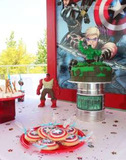Avengers Theme Birthday Party Decoration 5