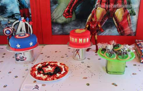 Avengers Theme Birthday Party Decoration 6