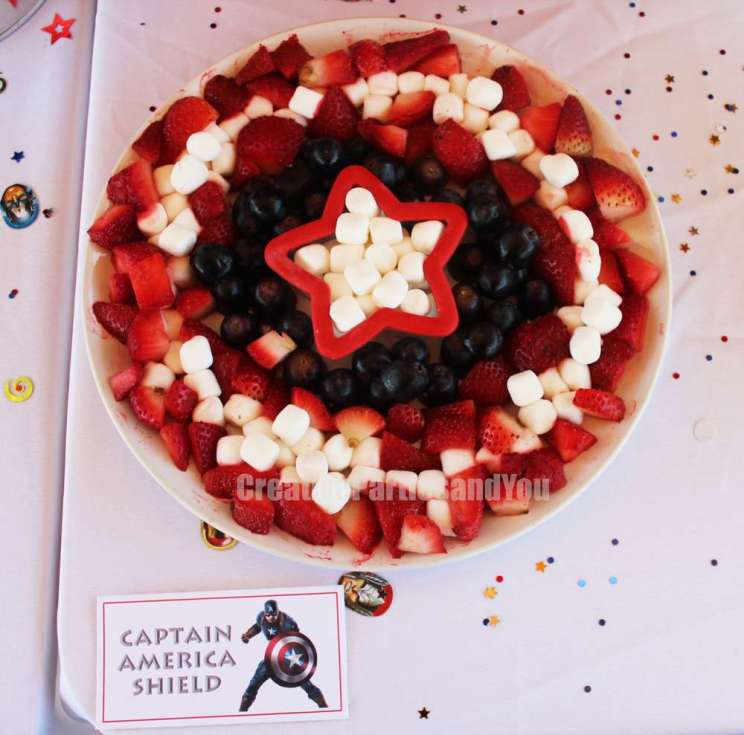 Avengers Theme Birthday Party Food 1