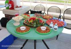 Avengers Theme Birthday Party Food 10
