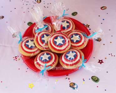Avengers Theme Birthday Party Food 2