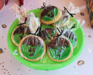 Avengers Theme Birthday Party Food 3 Hulk Cookies