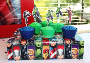 Avengers Theme Birthday Party Food 4