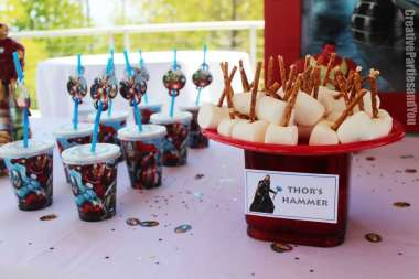 Avengers Theme Birthday Party Food 5