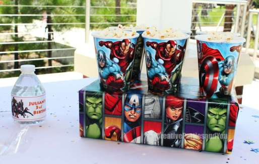 Avengers Theme Birthday Party Food 6