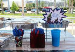 Avengers Theme Birthday Party Food 9