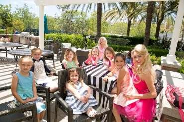 Barbie Theme Birthday Party Girls with Barbie