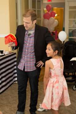 Barbie Theme Birthday Party Magician 2