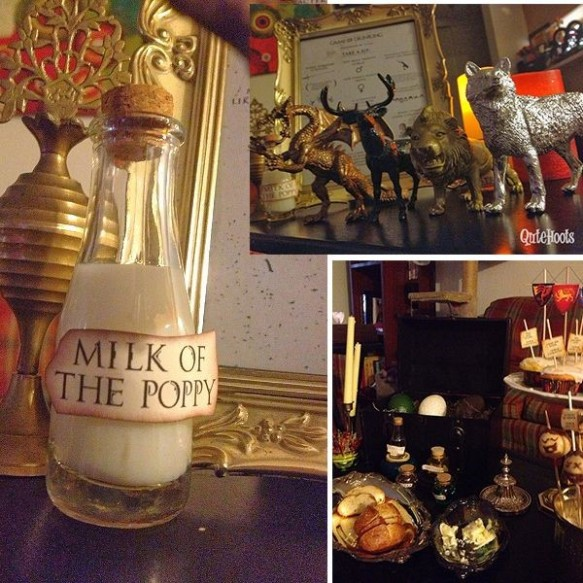 3 Steps To Plan An Ultimate Game Of Thrones Theme Cocktail Party