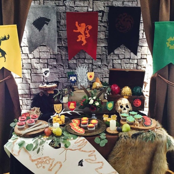 Game Of Thrones Theme Cocktail Party-Decoration