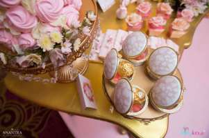 Lace and Pearls Theme First Birthday Party Food 2