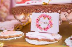 Lace and Pearls Theme First Birthday Party Food 4