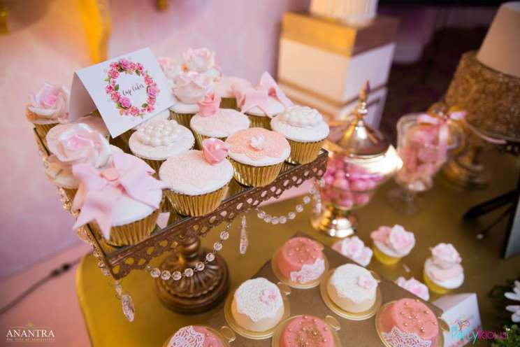 Lace and Pearls Theme First Birthday Party Food 6