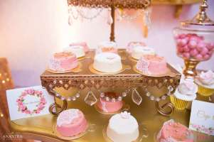 Lace and Pearls Theme First Birthday Party Food 7