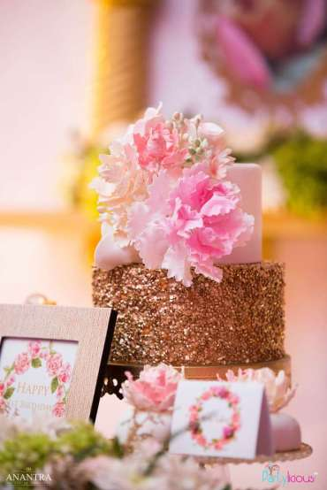 Lace and Pearls Theme First Birthday Party Food 8