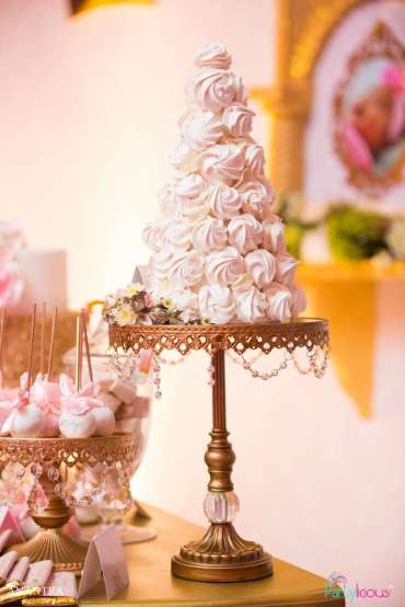 Lace and Pearls Theme First Birthday Party Food 9