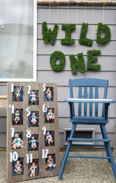 One Wild Adventure First Birthday Party Decoration 7