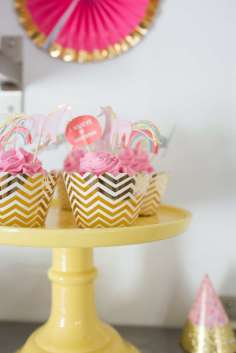 Rainbow and Unicorn Theme Birthday Party Food 3