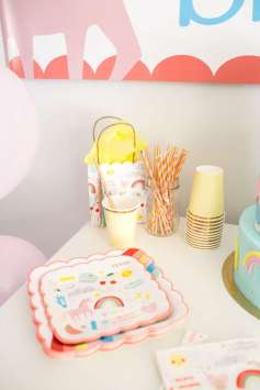 Rainbow and Unicorn Theme Birthday Party Food 6