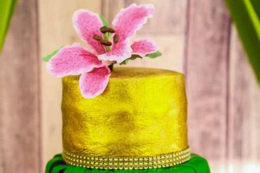 Rainforest Theme Birthday Party Cake 2