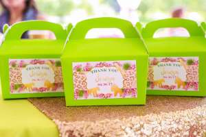 Rainforest Theme Birthday Party Return Gifts 2