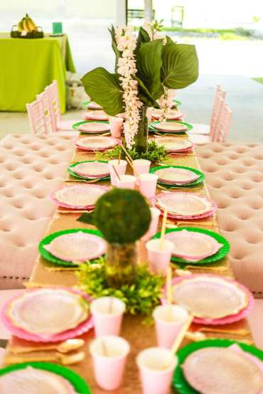 Rainforest Theme Birthday Party Venue 1