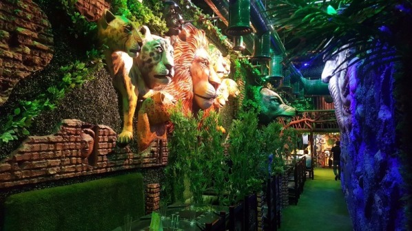 First Birthday Party Venues in Noida- Jungle Jamboree